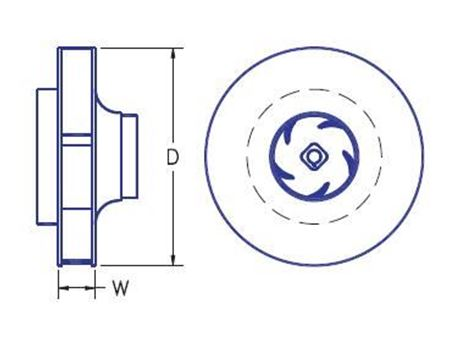 Picture for category Universal Impellers for MP Boiler Manifold Pump