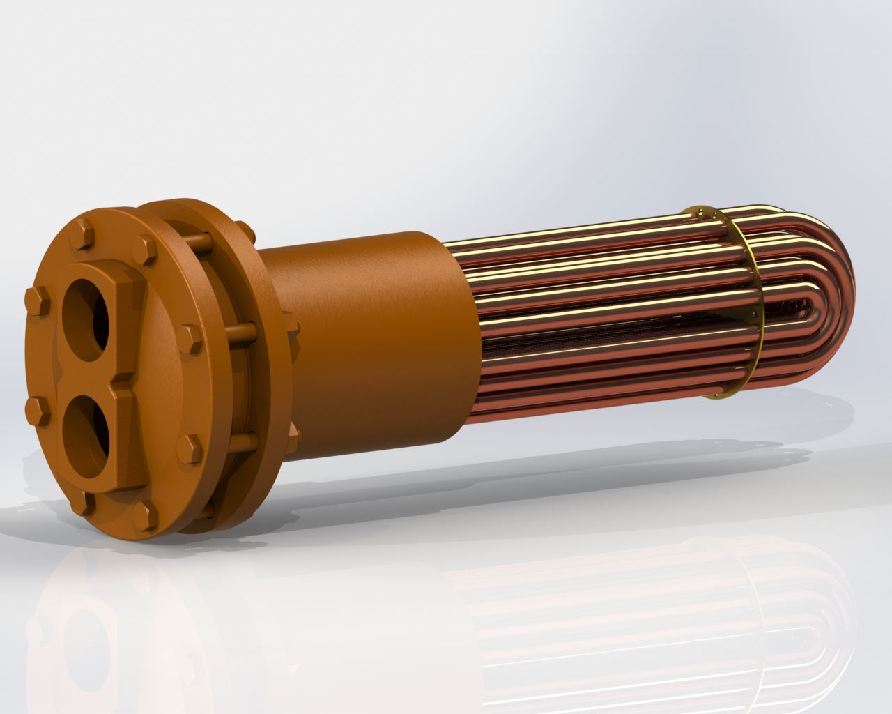 Picture of 6002-0780 , U-TUBE TANK HEATER BUNDLE