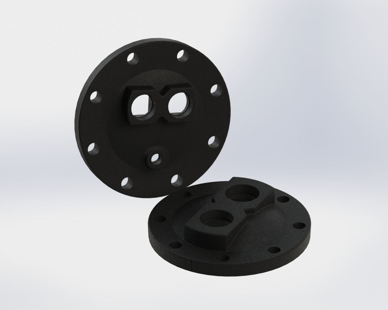 Picture of 5900-001 , U-TUBE HEADS - CAST IRON