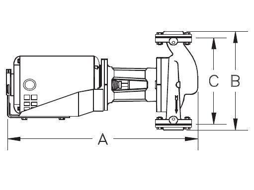 Picture of 2100-0053 , GTB/MTO SERIES - IN-LINE CENTRIFUGAL PUMPS