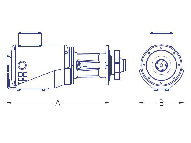 Picture of 2106-1112 , BOILER MANIFOLD PUMP - MP