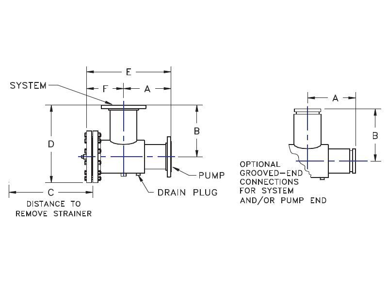 Picture of 376-2020 , FLOW GUIDES - FGT - BACK PULL OUT STYLE