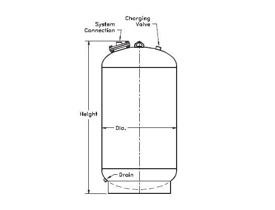 172-33 , NLA SERIES EXPANSION TANKS (ASME)