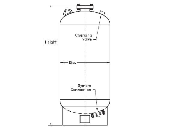 182-41 , FXA SERIES HYDROPNEUMATIC TANKS (ASME)