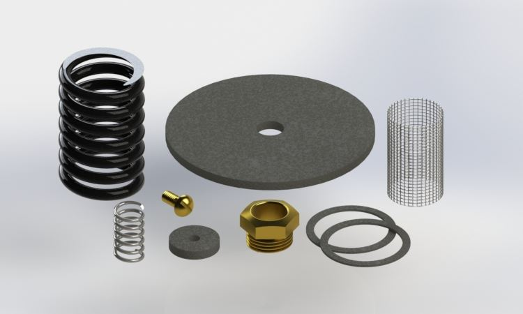 Picture of 7503-2000 , REPAIR KITS FOR AUTOMATIC FAST FILL VALVES