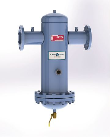 Picture for category Aar-O-Vent™ - Dirt & Sediment Separator - High Velocity - with Removable Cover or Fixed Head Cover