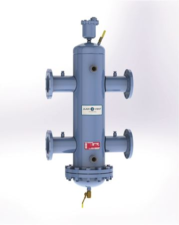 Picture for category Aar-O-Vent™ - Hydraulic Separator - Standard Velocity - with Removable Cover or Fixed Head Cover